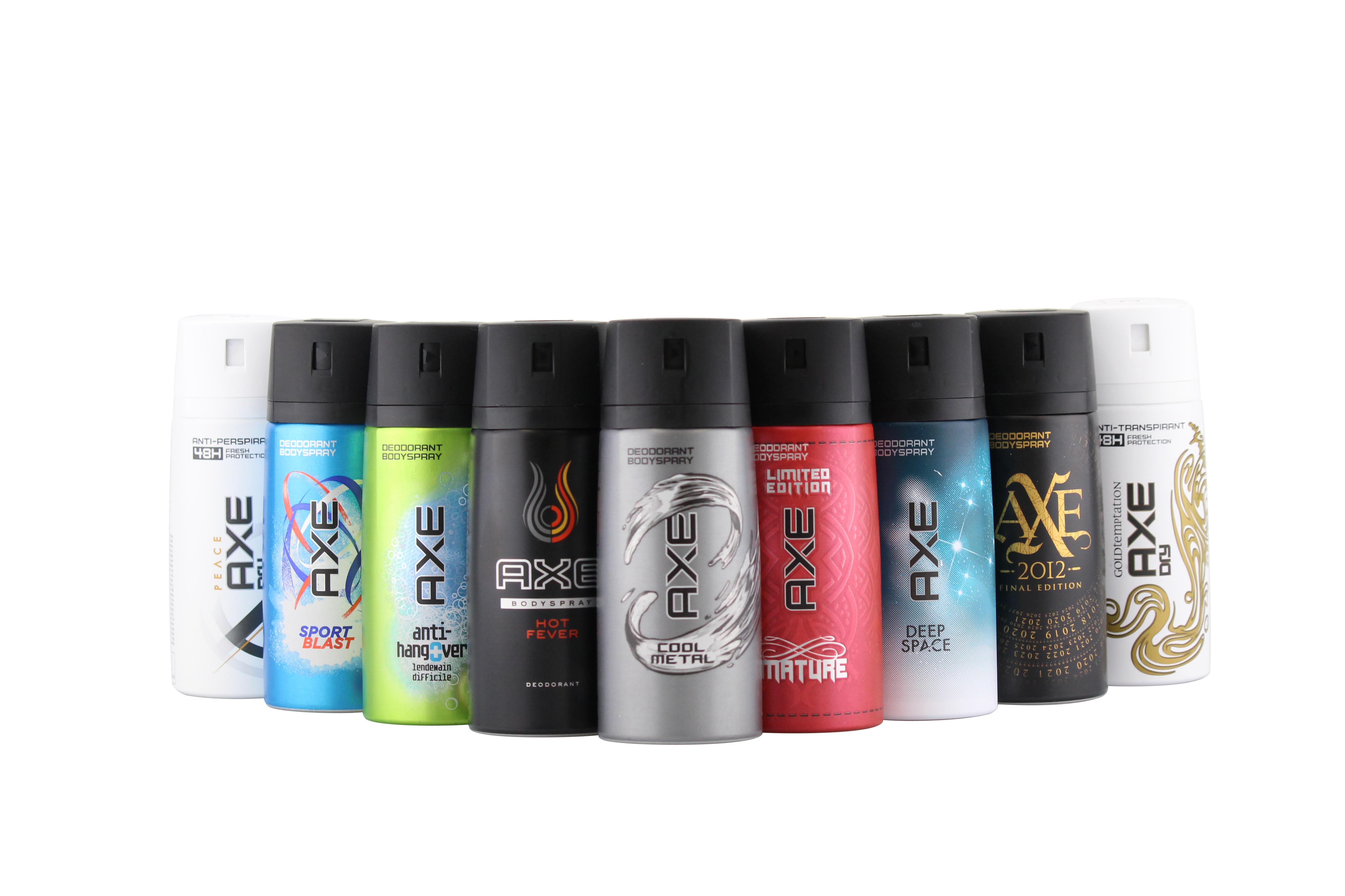 Axe Deo 6 x150 ml diverse Sorten Deodorant Deospray - verschiedene (1,77€/100ml) | eBay